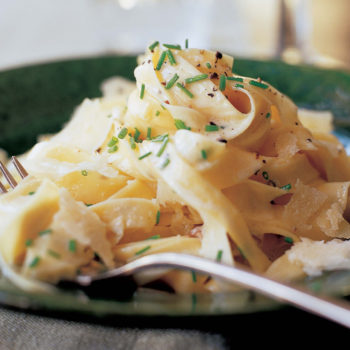Tagliarelle with Truffle Butter