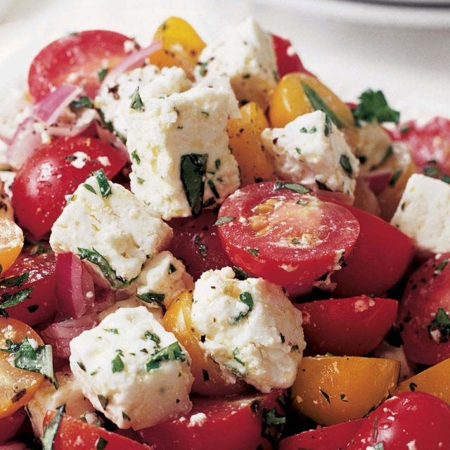 Ina Garten Salads tomato feta salad | recipes | barefoot contessa