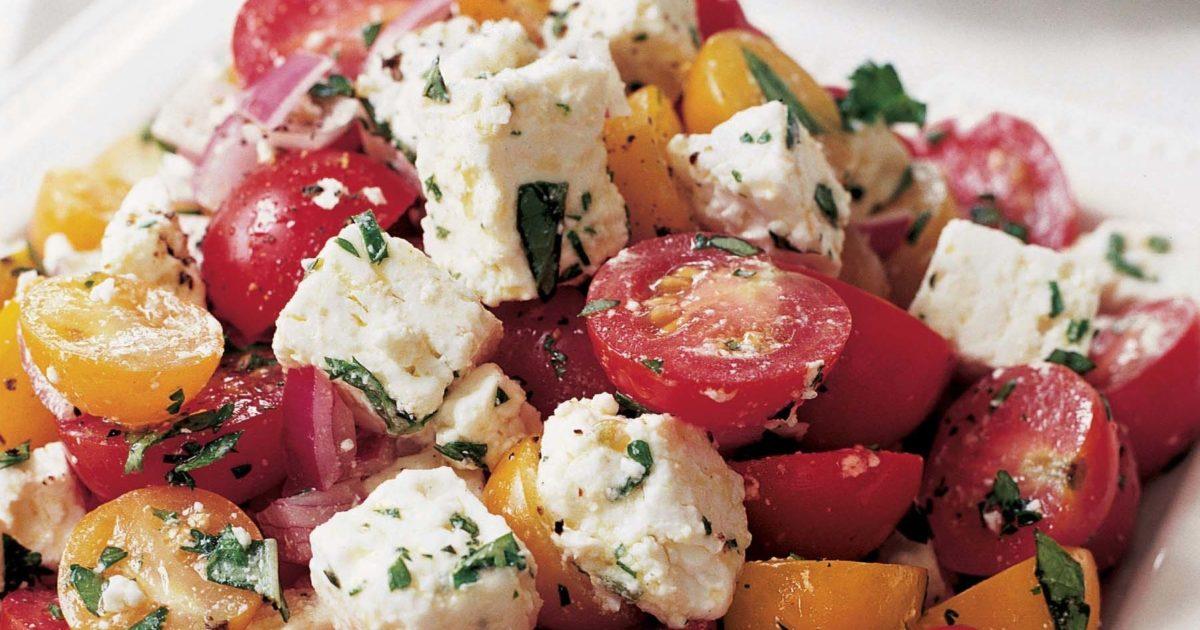 Tomato Feta Salad Recipes Barefoot Contessa