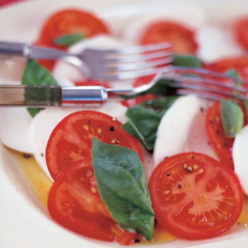 Tomato, Mozzarella and Basil