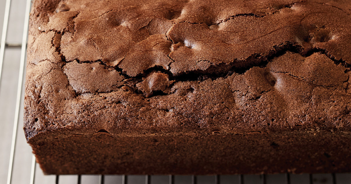 Triple Chocolate Loaf Cakes