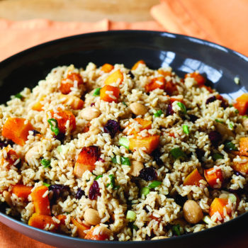 Warm Brown Rice & Butternut Squash