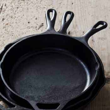 Cast-Iron (10-12 inch)  Skillets