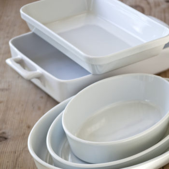 Tableware. White Baking Dishes & Tips Recipes and More from Ina Garten | Barefoot Contessa